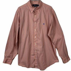 Ralph Lauren Mens 17.5 34-35 Classc Fit Shirt